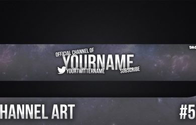 channel art template maxresdefault
