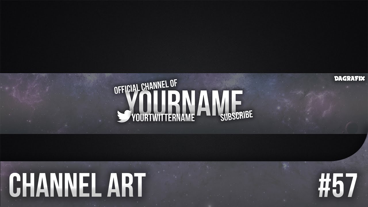 channel art templates