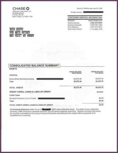 chase bank statement template fake chase bank statement bankstatementsample