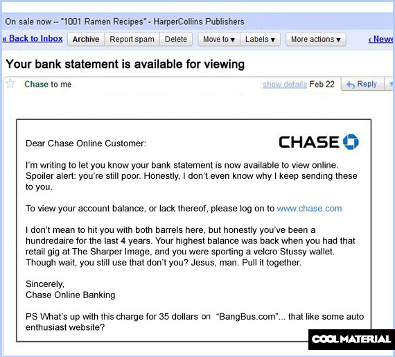 chase bank statements