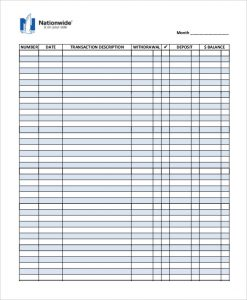 check register template business check register template