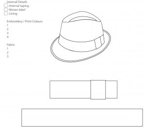 check template pdf fedora hat