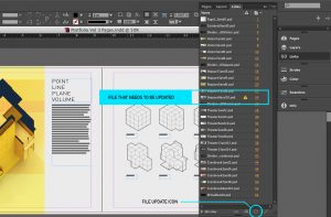 check template pdf portfolio workflow indesign links
