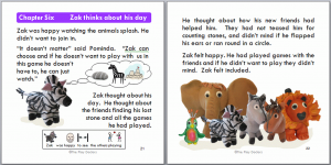childrens book templates zak pages