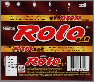 chocolate bar wraper cc uk nestle rolo bar chocolate candy bar wrapper