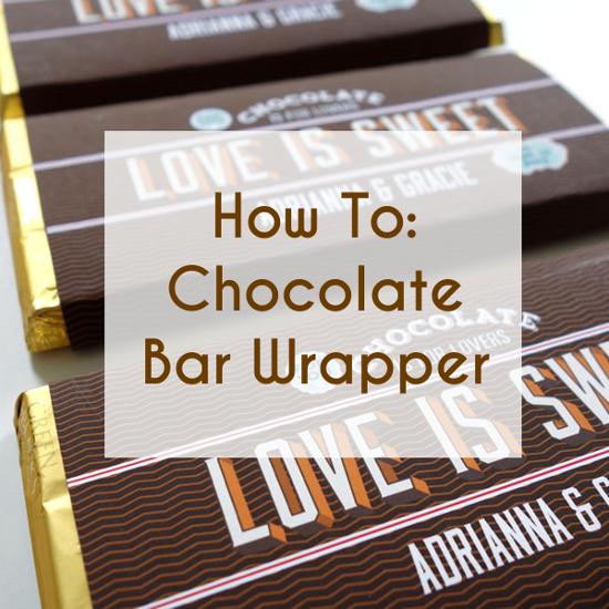 chocolate bar wraper