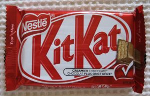 chocolate bar wraper kit kat creamier chocolate canadian wrapper