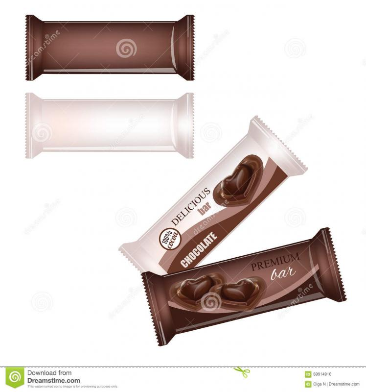 chocolate bar wrapper