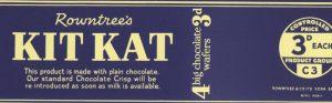 chocolate bars wrapper kitkat banner