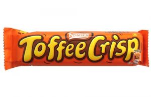 chocolate bars wrapper toffee crisp