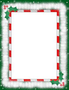 christmas border paper christmas border