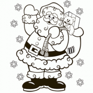 christmas coloring pages pdf christmas santa coloring page main x