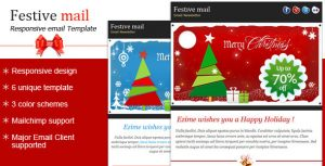 christmas email template preview large preview large preview
