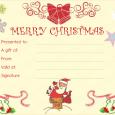 christmas gift certificate templates christmas fun gift certificate template