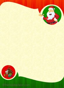 christmas letter paper blank christmas letter template download