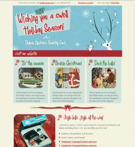christmas newsletter template htmlemailtemplate