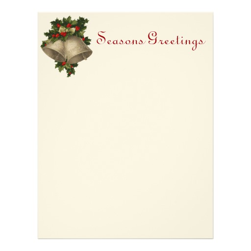 christmas stationery templates