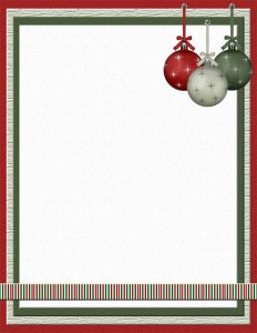 christmas templates free christmas stationery template papers download