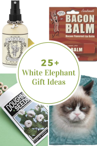 christmas tree printables white elephant gift ideas