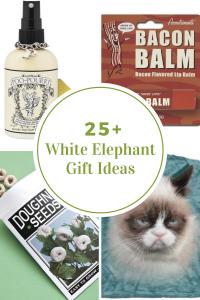 christmas tree printables white elephant gift ideas