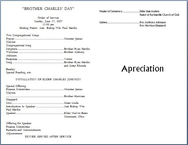 Church bulletin templates template business for Free templates for church bulletins