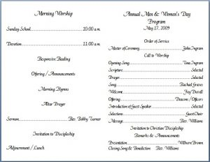 church bulletin templates church bulletin templates 1l6lxyby