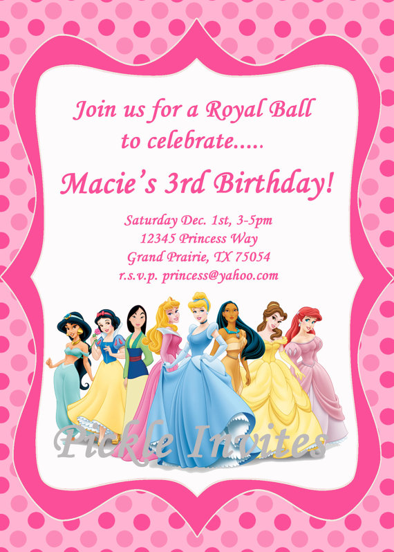 Cinderella birthday invitations template business cinderella birthday invitations bookmarktalkfo Gallery