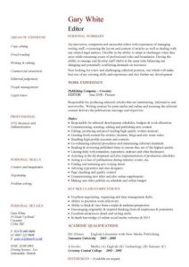classic resume template pic editor cv template