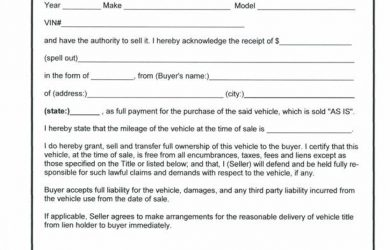 cleaning contract template vehicle bill of sale template