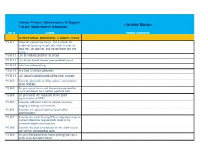 cleaning list template it service desk software rfp template