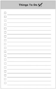 cleaning list template to do list form things to do list sample bjqpfr