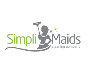 cleaning service logo simpli maids cleaning company logo design
