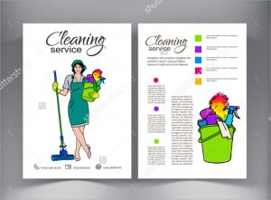 cleaning services flyers cleaning service flyer