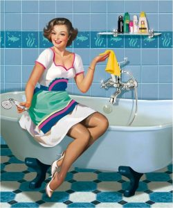 cleaning services logo f bbfecbdddaddccaeb