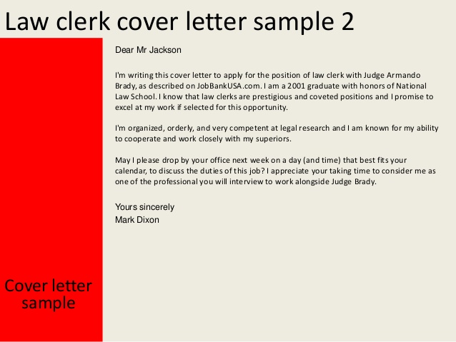 Clerical Cover Letter | Template Business