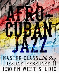 club flyer design afro cuban jazz flyer e