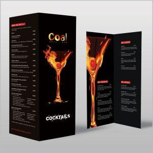 cocktail menu design untitled x