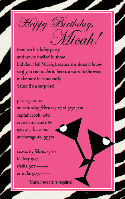 cocktail party invitations