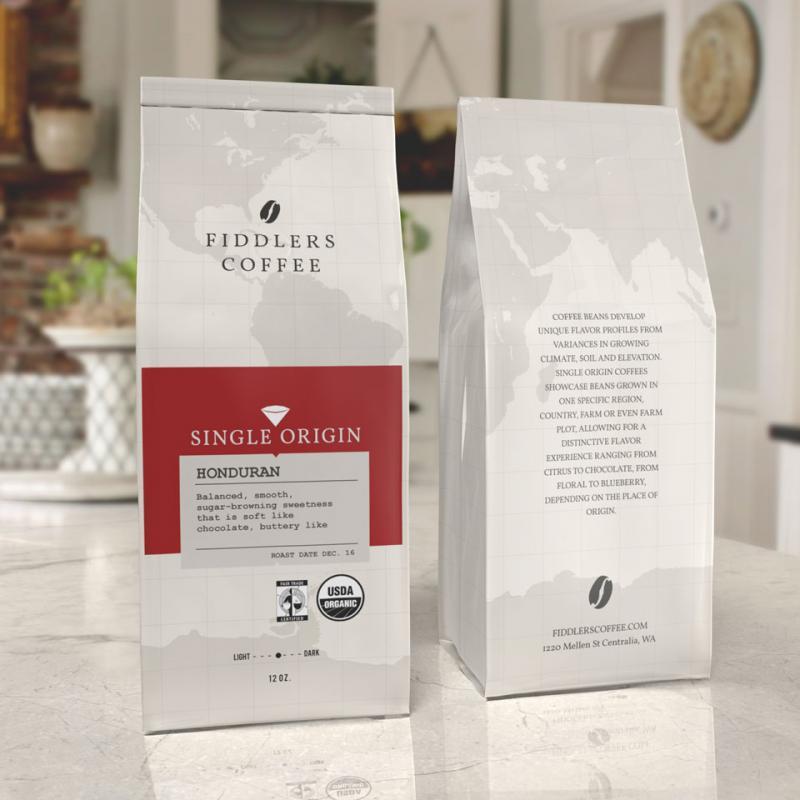 coffee bag design