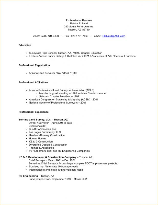 Incroyable College Application Resume Template