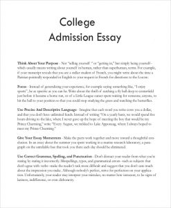 college essay format college admission essay sample1