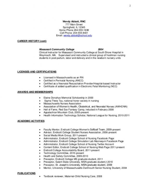 college freshman resume template