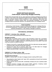 college graduate resume template senior mortgage manager resume sample