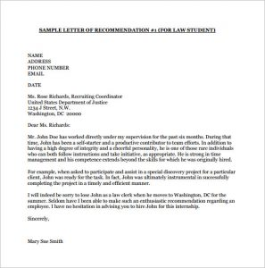 college letter of recommendation template free download college recommendation letter from employer pdf