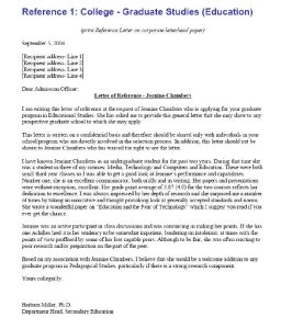 college letter of recommendation template recommendation letter for college template kadshsk