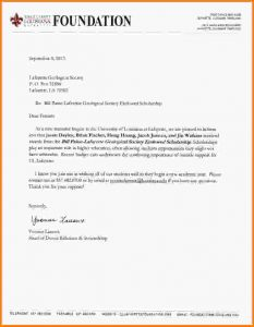 college rejection letter scholarship award letter