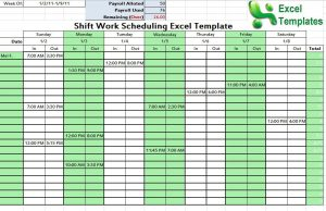 college schedule template shift schedule template image snap