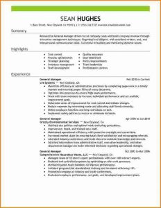 college student resume example general manager restaurant resumes general manager management