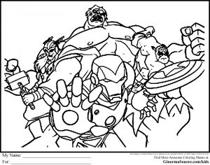 coloring pages of barbie avengers coloring pages to print