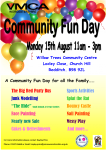 coming soon flyer community day a